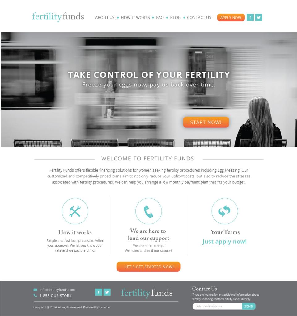 Sitio web feritlity funds
